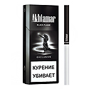 "Армянские Сигареты ""Akhtamar Exclusive"" Black Flame 120mm ""GRAND TABACCO"""
